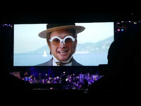 Rocketman: Live in Concert ~ Final Scene w/Hollywood Symphony Orchestra ~ Greek Theatre ~ 10/17/19