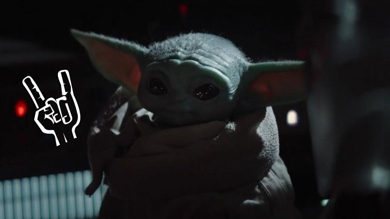 Baby Yoda likes Metal - YouTube