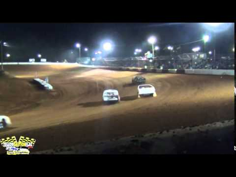 MISSISSIPPI STREET STOCKS INVADE FLOMATON SPEEDWAY FOR THIS INAUGURAL EVENT 4/19/14 PART 2