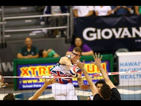Hawaii Warrior Men's Volleyball 2017 - #4 Hawaii Vs #8 Stanford