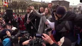 Собчак освистали на митинге в Петербурге