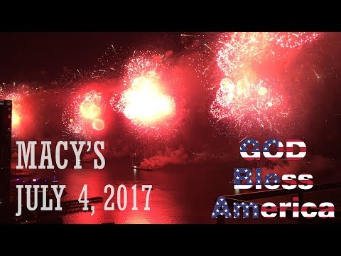 Penthouse View - 2017 Macy's 4th of July Fireworks - Long Island City, East River