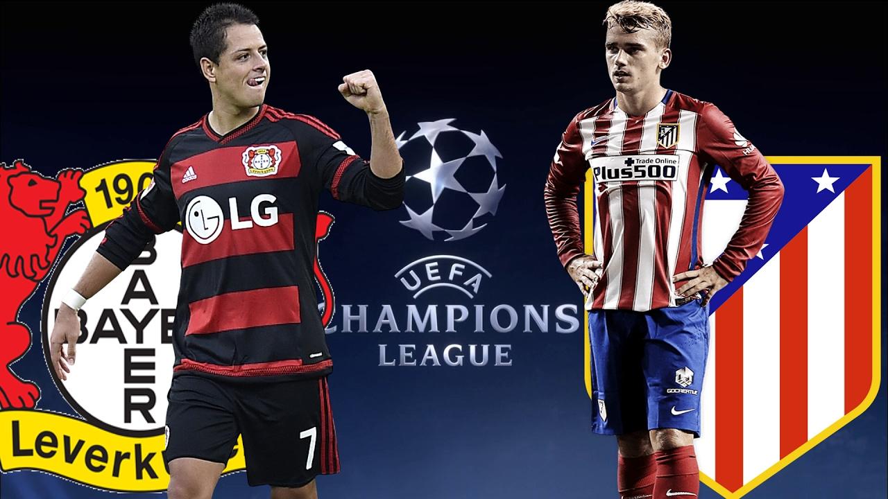 Bayer Leverkusen Vs Atletico Madrid Champions League 21 02 2017 Youtube