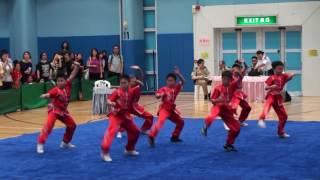 滬江小學A~學校組小學組五步拳 (2016全港公開新秀武術錦