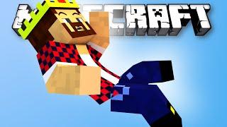 ПАДАЛ НО ВСЕГДА ВЫЖИВАЛ   Minecraft Bed Wars Mini Game