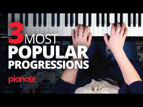 The Three Most Popular Chord Progressions (Full Piano Lesson)