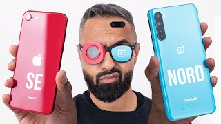 OnePlus Nord vs iPhone SE 2020