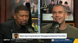 """Jalen & Jacoby BREAKING NEWS: Kyrie has become """"disengaged & detached"""" from Celtics
