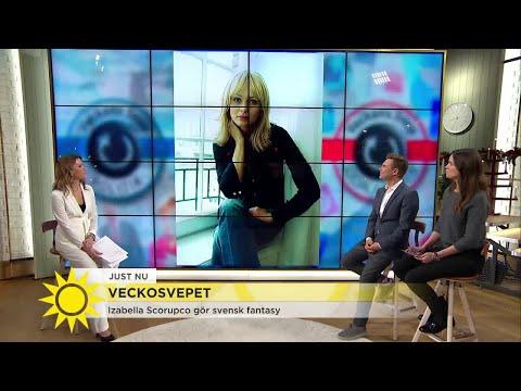 Izabella Scorupco gör comeback - i svensk fantasy! - Nyhetsmorgon (TV4)