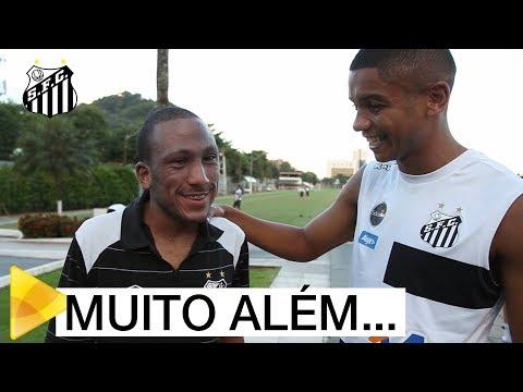 Bruno realiza sonho e conhece elenco do Peixe | #MUITOALÉMDOFUTEBOL