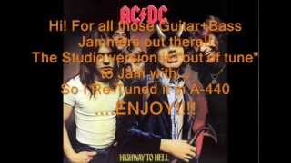 "AC/DC ""If You Want Blood"": Retuned A-440 Version"