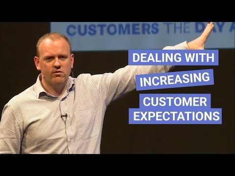 Dealing with increasing customer expectations. Full keynote (20 minutes) by Steven Van Belleghem