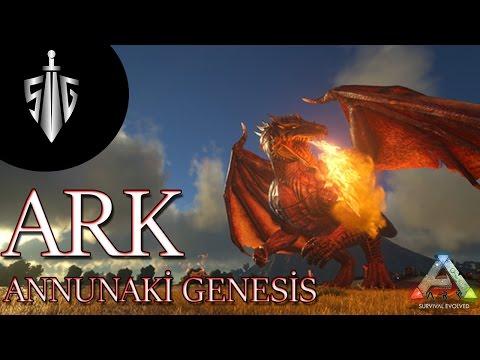 Ark Survival Evolved Annunaki Genesis Türkçe Bölüm 31 Bionic Tapejara Megapithecus ve Sabertooth