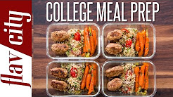 Easy Meal Prep For College Students – Healthy Meal Prep For The Week
