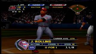 MLB Slugfest 2003 Phillies vs Braves