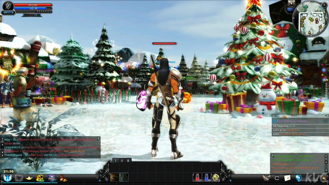 Palladium Rpg Christmas 2021 Cabal Online 2021 Gameplay Pc Uhd 4k60fps Youtube