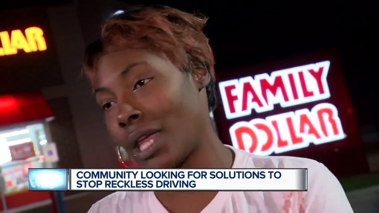Community looking for solutions to stop reckless driving