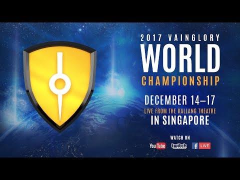 Razer 2017 Vainglory World Championship - Grand Finals & Third Place
