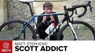 Matt Stephens' SCOTT Addict Team Issue | GCN Presenter's Bikes