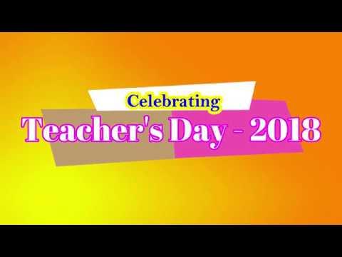 Teacher's Day Celebrations in Champion School, Sullurupet