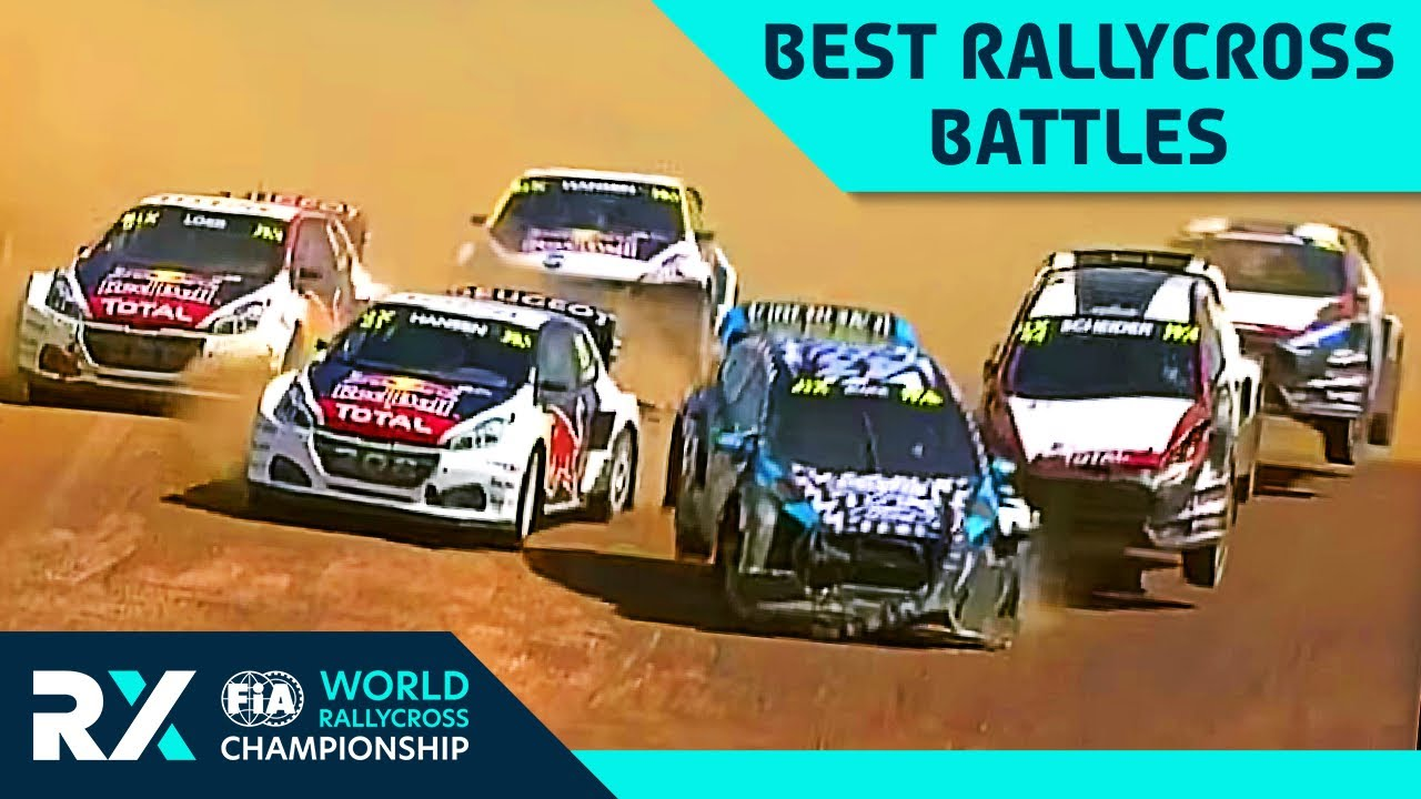 Dramatic Moments in World RX ❕| Part 1 | FIA World Rallycross