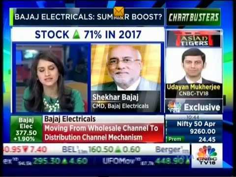 CNBC Chartbusters 05 April 2017 Mr. Shekhar Bajaj - CMD, Bajaj Electricals