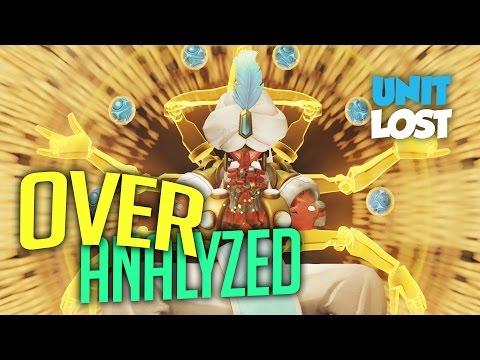OverAnalyzed - Zenyatta Gameplay Breakdown - Numbani Attack and Defense