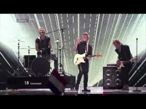 A Friend In London - LIVE - [HD] - New Tomorrow - Eurovision Song Contest 2011 - Denmark