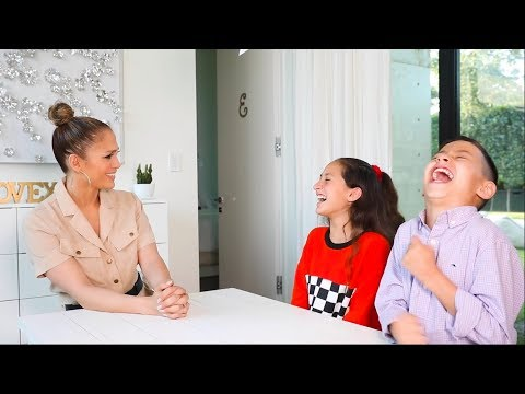 Letty B - (WATCH) Jennifer Lopez Lets Her Kids Interview Her