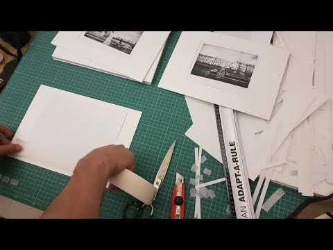 Оформление картин в паспарту