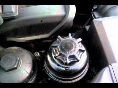 how to check your power steering fluid level on your bmw youtube power steering fluid level on your bmw