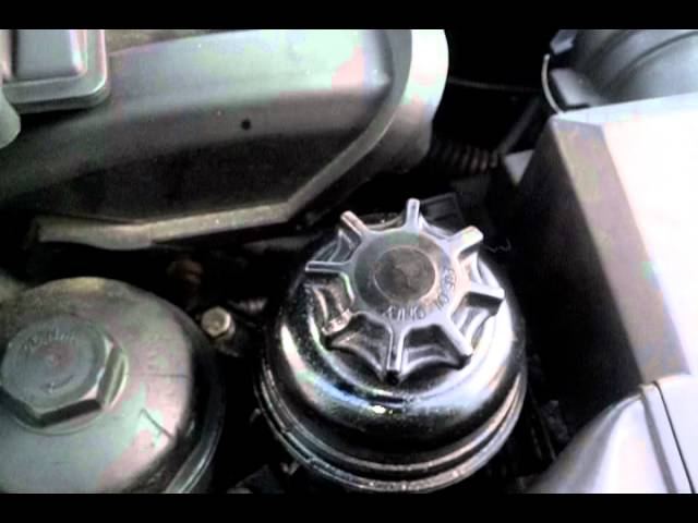 How To Check Your Power Steering Fluid Level On Your Bmw Youtube