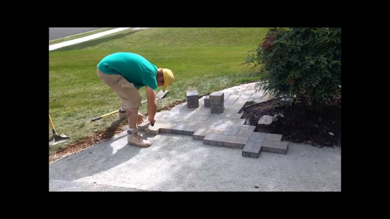 How To Install Hanover Architectural Products Pavers 6x6