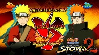 vuclip Naruto Ultimate Ninja Storm 2 1080p Final Boss 9 Pain Rank S | Naruto Sennin vs Pain Factor Secreto