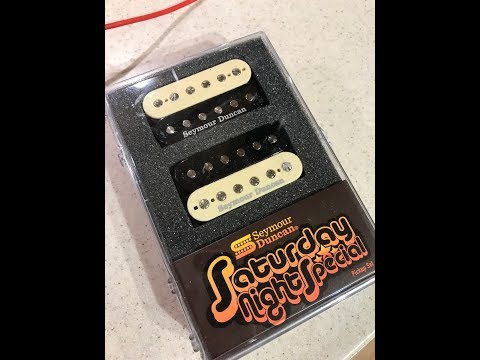 Seymour Duncan - Saturday Night Special Pickup Review