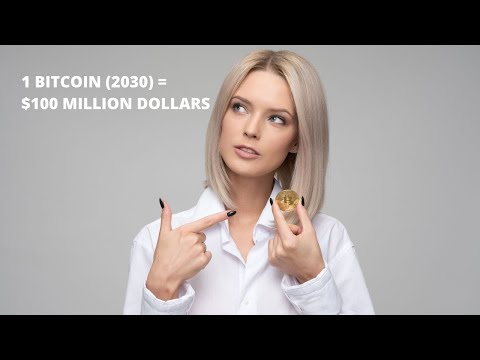 Bitcoin Will Be Worth $100,000,000 Per Coin In 2030