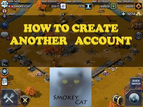 Empires and Allies:  Creating and managing multiple accounts