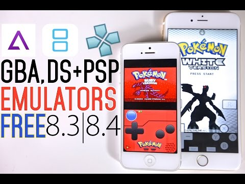 How To Install GBA4iOS, PSP & NDS Emulator FREE on iOS 8 3 & 8 4 No