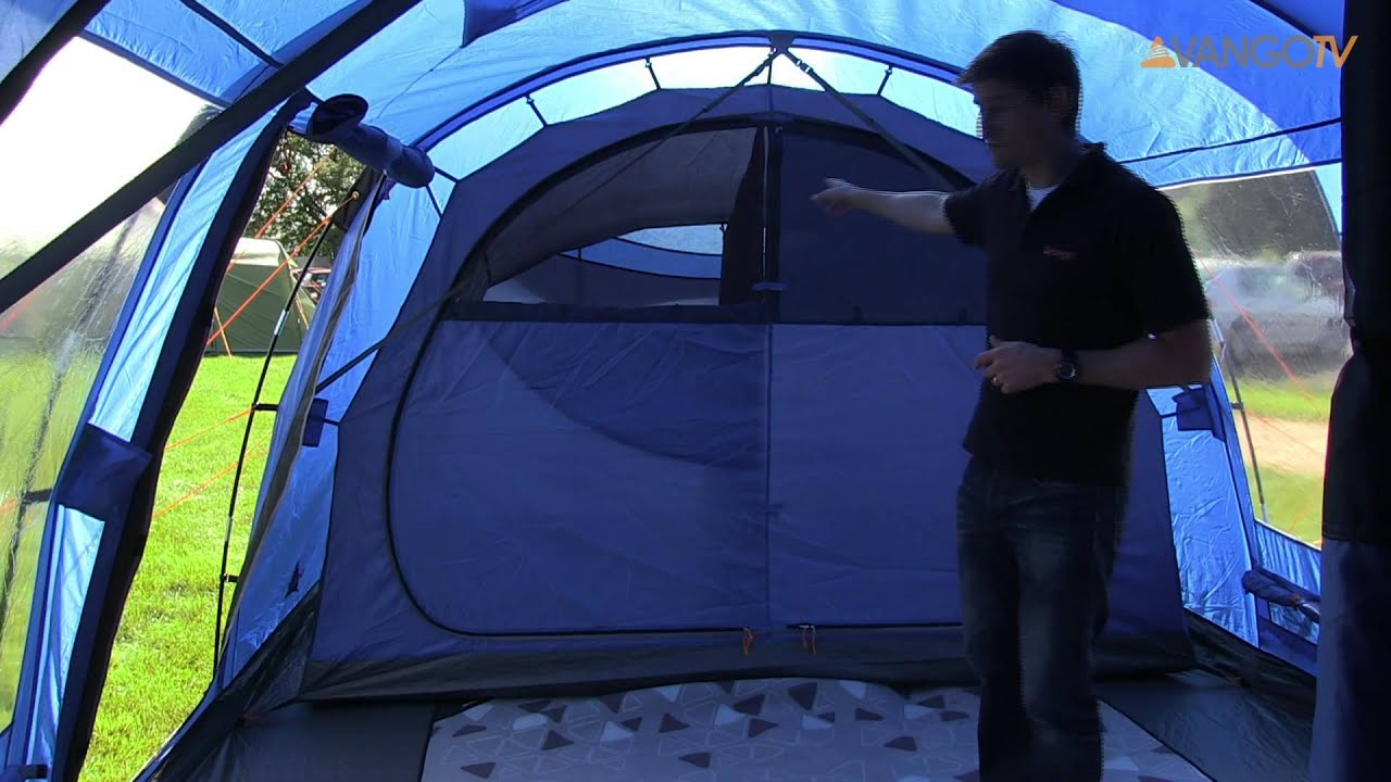 Vango Family - H&ton poled tent filmed 2013 & Vango Family - Hampton poled tent filmed 2013 - YouTube