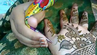 Learn Easiest Henna Mehndi Design Step by Step for Hand New 2018(Full Hand Mehndi Designs)