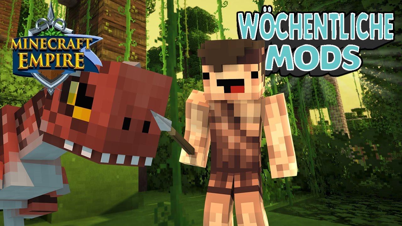 Die Modliste von Minecraft Empire?! - Wöchentliche Mods #9 (Part 2)