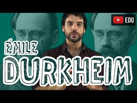 Sociologia - Quem é Émile Durkheim?
