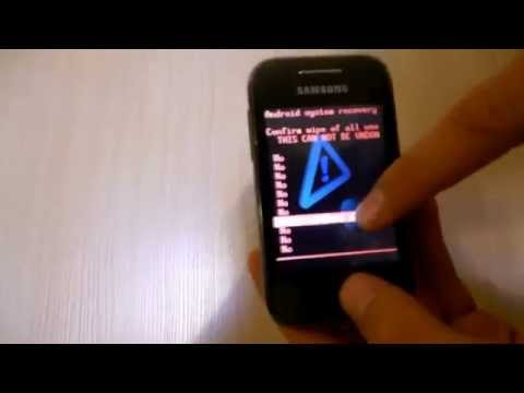 Как установить Android 4 на Samsung Galaxy young GT-s5360