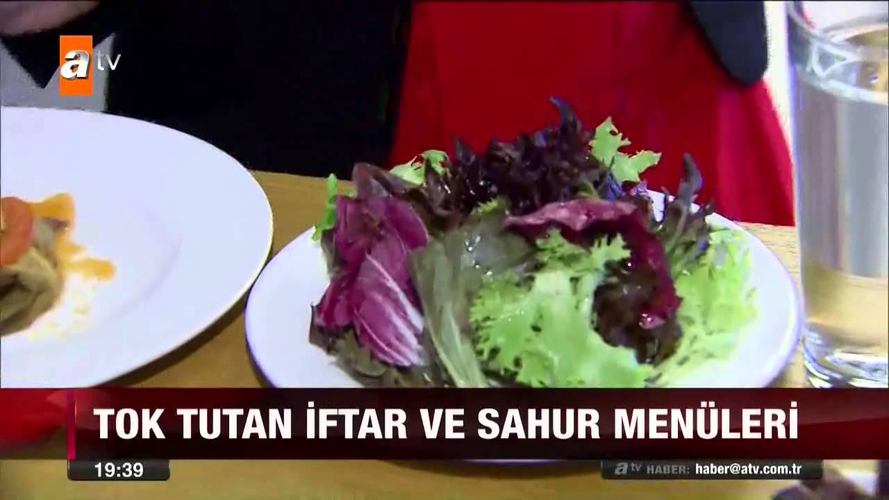 Tok tutan iftar ve sahur menüleri - atv Ana Haber - YouTube