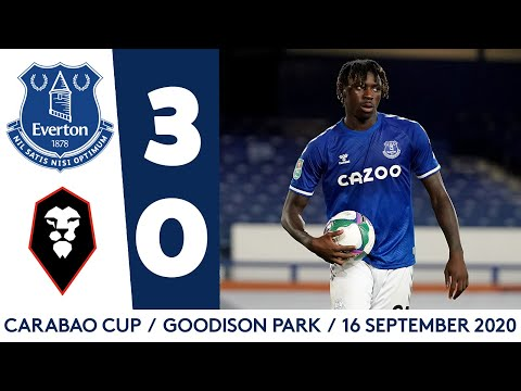 Everton Salford Goals And Highlights