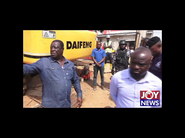 Road minister orders arrest of contractor of ongoing 22-storey building at Airport