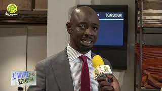Invité de la Rédaction: M. Amadou DIOP Dir Télévision Du Sénégal: Passage analogie vers le numérique