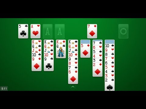 Solitaire (by Brainium Studios) - Card Game For Android And IOS - Gameplay.
