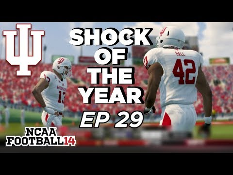 NCAA Football 14 Dynasty | Indiana Hoosiers - HOW DID THIS HAPPEN?!? INSANE ENDING TO SEASON - Ep 29