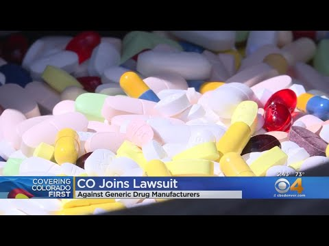 Colorado Joins Another Lawsuit Against Big Pharma